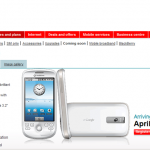Android 実機 Vodafoneから4月発売