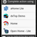 Android Homeアプリケーション