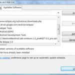Android SDK 1.5 r1バージョンアップインストール手順