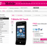 Android HTC Hero 販売開始