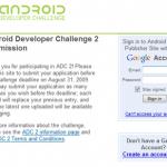 Android Developer Challenge 2 アカウント作製しました