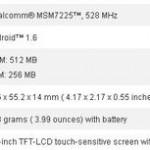 HTC TATOOは、Android OS 1.6 10月発売