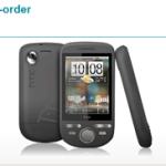 Android HTC Tattoo 10月5日予約開始 10月8日発送開始 (UK)