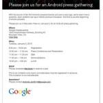 1月5日 GoogleがAndroidプレスイベントとNexus One まとめ