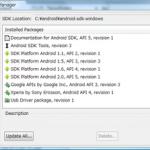 Android SDK 2.01 バージョンアップはzipファイルをダウンロードする必要なし