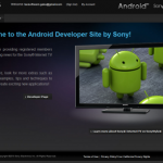 Android Sony Developer Siteにアカウントを作ってみた