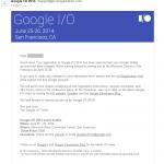 Google I/O 2014 準備編 - 最低限必要なこと