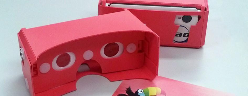 タオバイザー:Google cardboard互換3Dのぞきメガネ、おかわり!!