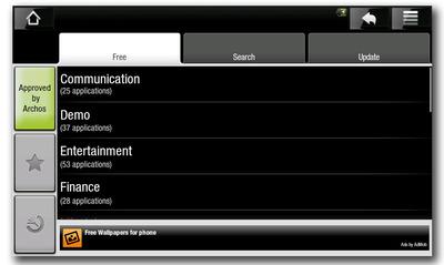 Archos5 Android Market
