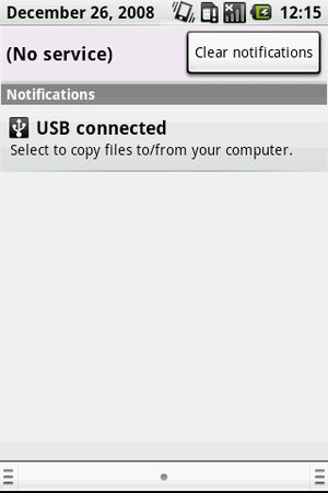 USB connected