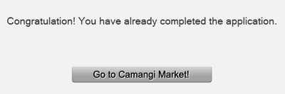 camangi registration success